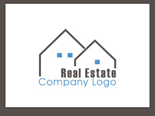 Immobilien Logo - Real Estate - Vector Template No. 18