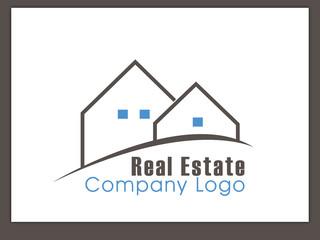Immobilien Logo - Real Estate - Vector Template No. 19