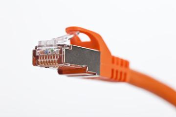 netzwerkkabel orange