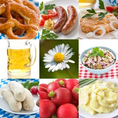 Bavarian food collection