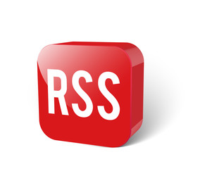 RSS 3d Icon rot