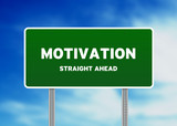Motivation Street Sign poster