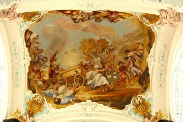 Fresco in Stift Altenburg