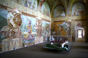 Nice painting in the cloister Altenburg