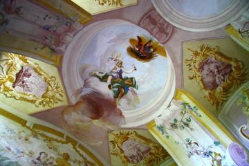 Fresco in the cloister Altenburg