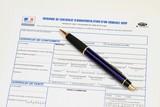 Demande immatriculation véhicule poster