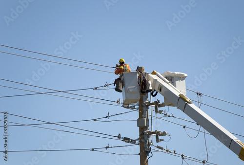 Repairing Electric Lines