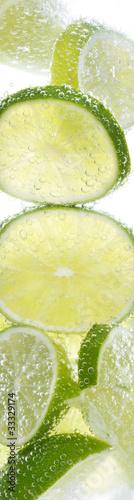 Erfrischung mit Zitrone und Lemmon
