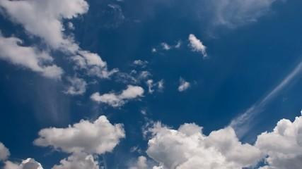 Wolken im Zeitraffer