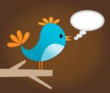 Voice of a bird poster