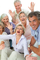 Senioren freuen sich