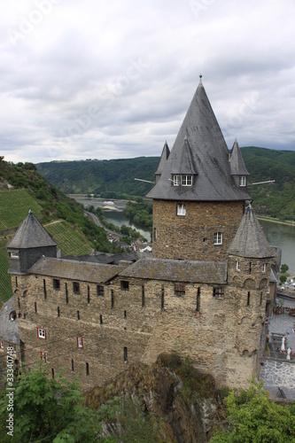 Blick auf Burg Stahleck bei Bacharach