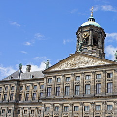 Königlicher Palast (Royal Palace) in Amsterdam