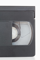 Close up of a video tape