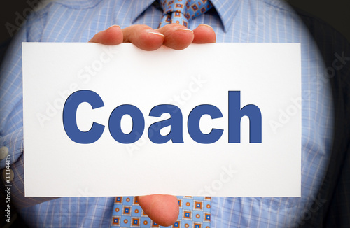 Coach - Business Concept