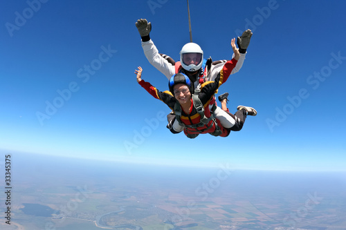 Canvas Luchtsport Skydiving photo