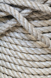 Synthetic rope background poster