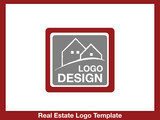 immobilien Logo - Real Estate - Vector Template No. 4