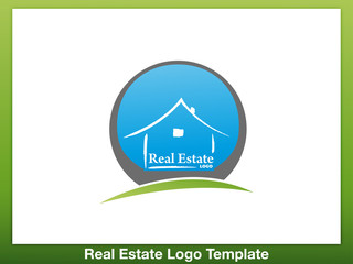 Immobilien Logo - Real Estate - Vector Template No. 2