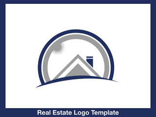 Immobilien Logo - Real Estate - Vector Template