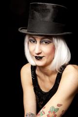 cabaret performer portrait