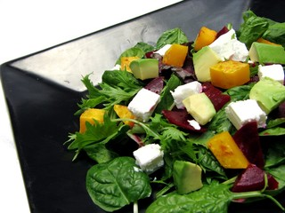 Roast Pumpkin & Fetta Salad