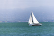 sailing boat in the bay