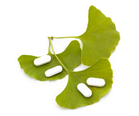 Ginkgo Biloba tree spirit and the medicine made ​​from it.