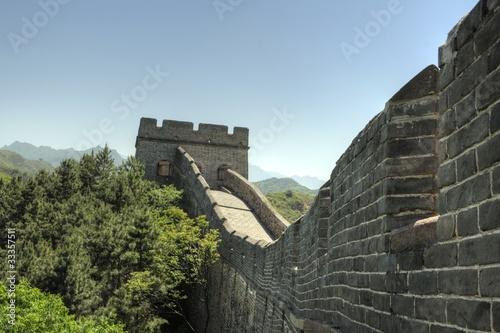 Fotobehang Chinese Muur Jinshanling, China - The great Wall (chinesische Mauer)
