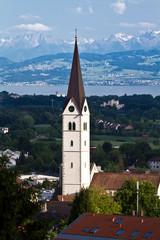 Kirchturm von Markdorf am Bodensee