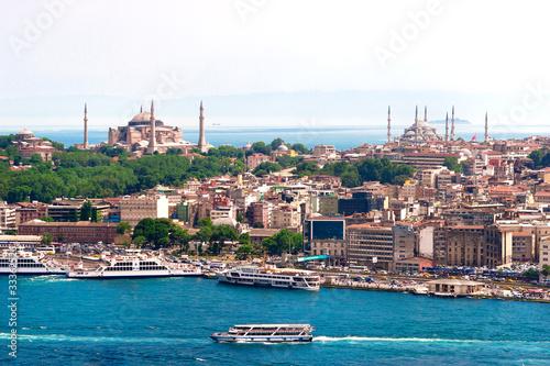 Istanbul, Türkei, Blaue Moschee, Hagia Sofia