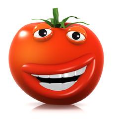 3d Tomato laughs haha!