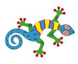 Fototapeta salamandra - pożoga - Dekoracja