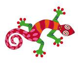 Fototapete Eidechse - Salamander - Dekoration