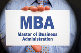 MBA - Master of Business Administration poster