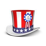 Uncle Sam hat poster