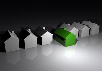 Casa ecologica vendere mercato