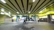 Running in underground passage