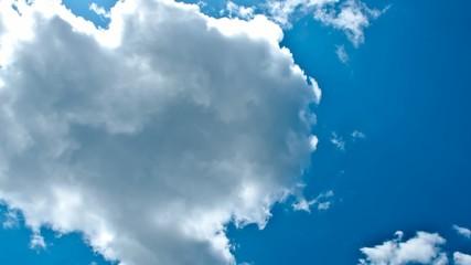 Wolkenformationen im Zeitraffer - Rechts