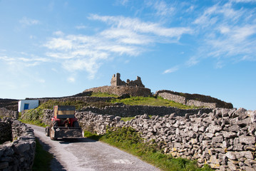 A Castle in Ruins on the Aran Islands