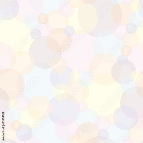 Seamless Pattern Light Bubbles © Jan Engel