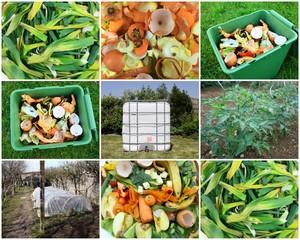 recyclage,compost pour le potager