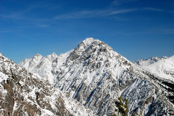 Alpine landscape, Liechtenstein