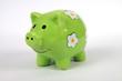Sparschwein grün 2