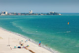 Lido Beach in Siesta Key, Sarasota, Florida