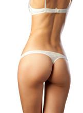 slender body  woman