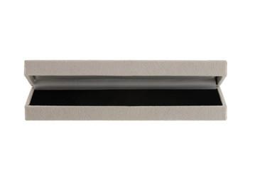 Grey velvet gift box