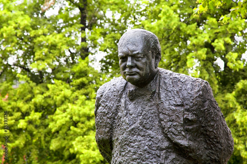 Winston Churchill Public Art, Halifax, Nova Scotia, Canada
