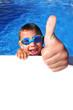 Leinwandbild Motiv Schwimmer