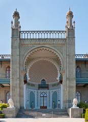 Vorontsovsky palace in Alupka, Crimea, Ukraine